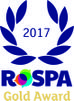 Royal Society for Prevention of Accidents (RoSPA) Gold Award