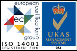 UKAS Management System ISO 14001