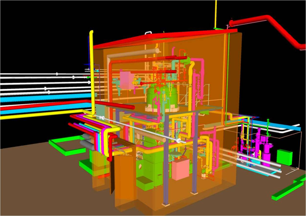 3d modelling is a data centric multi disciplinary design environment for the 3d modelling of process plants that ensures clash free design
