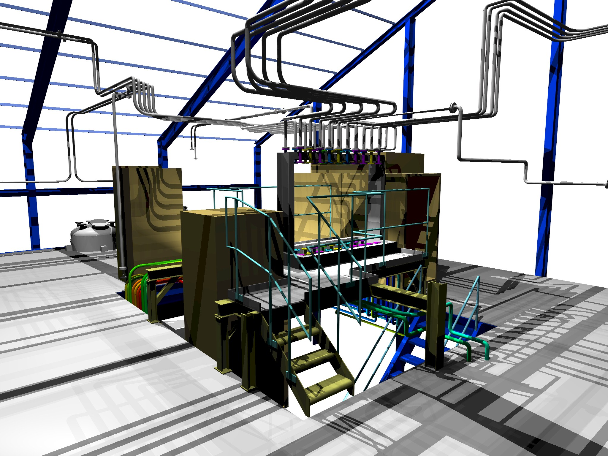 the full range of drawings and pipe isometrics - Autoplant 3d